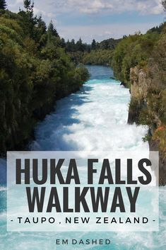 Take the Huka Falls Walkway, and experience the unique geothermal activity and stunning natural features of Taupo and the Waikato River.
