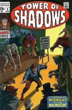 Tower of Shadows # 3 by Marie Severin & Frank Giacoia