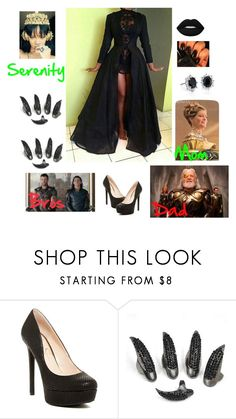 """""""Serenity Odinson ~ Marvel"""" by xxadorkablexx ❤ liked on Polyvore featuring Glitter Gal, Blue Nile and Odin"""