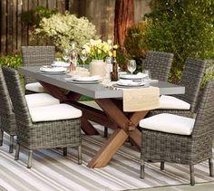 Abbott Rectangular Dining Table & Huntington Chair Set