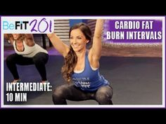 10 min Intermediate Cardio w/ weights Hiit Workout Videos, Workout Log, Fun Workouts, Free Workout, Workout Tips, Best Post Workout Food, Whole Body Workouts, Hiit Program, Fat Burning Cardio