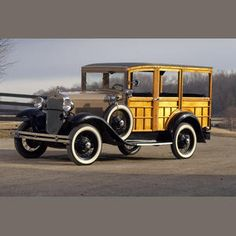 1930 Ford Model A Station Wagon Engine no. T105600
