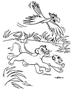 The Lion Guard Coloring Pages Printable | Coloring Pages * Disney ...