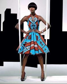 Vlisco dress #Africanfashion