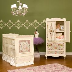 Almost makes me wish for another baby ... ALMOST. That and a lottery win to buy this with. But it is gorgeous!