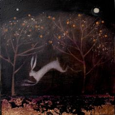Catherine Hyde Artist - large prints: square 10 x 10 inches, rectangular: approx 14 x 10 inches £75 Prints beneath the fruiting trees