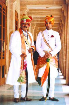 Maharajah and Rajkumar of Jodhpur