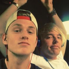 Tristan and Dean funny  if you click on the photo than are you go to instagram and than is it a video