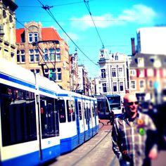 Bright skies in Amsterdam
