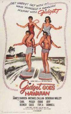 """""""GIDGET GOES HAWAIIAN"""" 1961 Movie Original"""