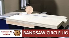 Hello everyone, in this video I'll show you how to build an adjustable circle cutting jig for your bandsaw. My circle jig was largely inspired by George Vond.