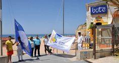 Lagoa hasteou a Bandeira Azul em seis praias do Concelho - Algarlife