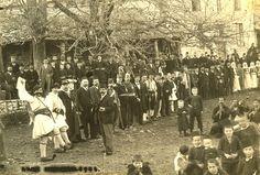 Βήσσανη, Χοροστάσι 1904. Φωτογραφία Γιώργος Πανταζίδης