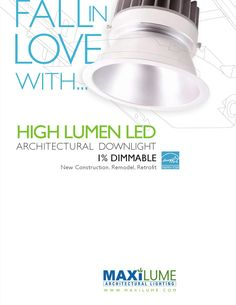 2014 Maxilume LED High Lumen Architectural Downlight Brochure