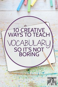 10 Creative Ways to Teach Vocabulary 10 Creative Ways to Teach Vocabulary,Vocabulary instruction Wish teaching vocabulary could be more creative and fulfilling? Try these ten strategies to make studying vocabulary more engaging. Vocabulary Instruction, Science Vocabulary, Vocabulary Ideas, High Vocabulary Words, How To Teach Vocabulary, Teaching Vocabulary Activities, Technology Vocabulary, Teaching Multiplication, Academic Vocabulary