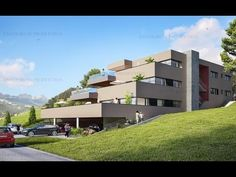 Penthouse for sale Gumefens, Nr. Bulle, Fribourg. Walk around village