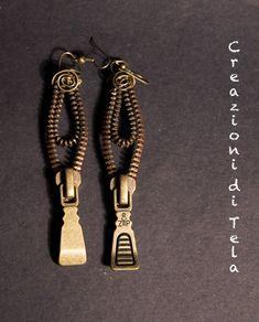 Kimoa: Orecchini con zip