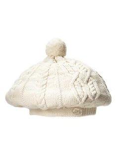 Cable knit beret | Gap