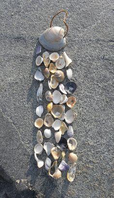 Sea Shell Wind Chime Beach Windchime by somethingfromthesea
