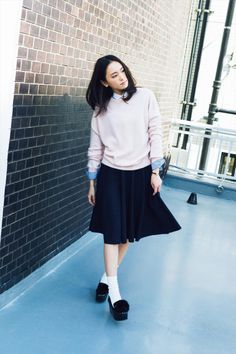 Yui Aragaki: November 2014 news Fashion Models, Fashion Beauty, Girl Fashion, Fashion Outfits, Fashion Styles, Tokyo Fashion, School Fashion, Asian Cute, Cute Woman