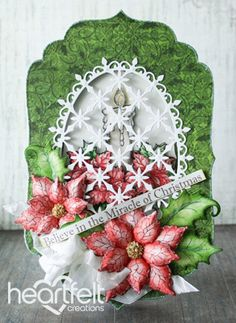 Heartfelt Creations | Christmas Miracle Window Card