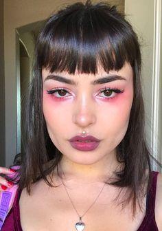 no makeup quotes Edgy Makeup, Unique Makeup, Creative Makeup, Pretty Makeup, Skin Makeup, Eyeshadow Makeup, Makeup Looks, Golden Eyeshadow, Foil Eyeshadow