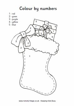Stocking color by number                                                                                                                                                                                 More