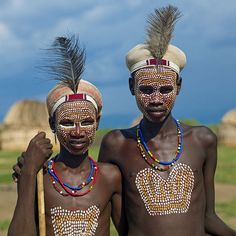 Erbore kids - Omo Ethiopia by Eric Lafforgue, via Flickr