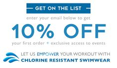 Shop Waterpro Chlorine Resistant Swimwear | Low Prices | SWIMANDSWEAT