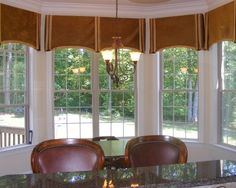 15 Best Bay Window Valance Images On Pinterest Window Swags