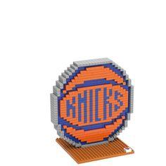 New York Knicks Puzzle 3D BRXLZ Logo Design Special Order