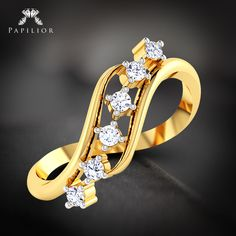 #Ring, just like #jewellery are dynamic and makes a perfect gifting option.   #diamondring #goldring #weddingring #budgetprice #papilior #diamondringforwomen #diamondringonline #ringforwomen