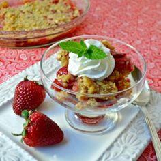 Rhubarb Strawberry Crunch - Allrecipes.com
