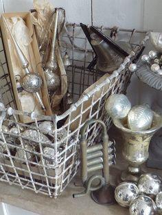 antique mercury glass christmas ornaments...                                                                                                                                                                                 Mehr