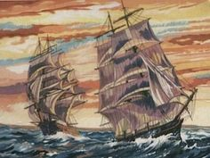 Reeves Painting by Numbers (Sailing Ships)