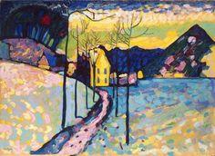 Winter Landscape  by Wassily Kadinsky
