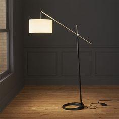 beam floor lamp   CB2