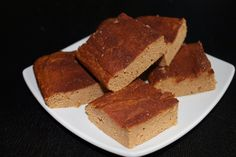 Protein Snickerdoodle Bars (chickpeas or white beans, pumpkin, cinnamon protein powder) | not so ordi-nanny me