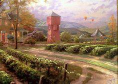 Abundant Harvest by Thomas Kincaid