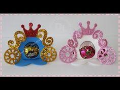 como fazer porta bombom de carruagem príncipe e princesas segue o link com o molde do porta bombom http://doceslembracasdasandraartera.blogspot.com/2014/10/p...
