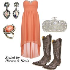 Coral: Color of the Month on Horses & Heels