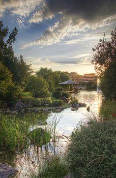 Enamorados del Parque de Yamaguchi, ¿Vosotr@s tambien verdad?💓😱😍 #HotelWanderlust #Pamplona #maravillas #paisajes #inlove