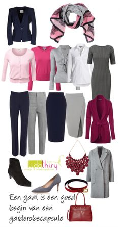 Capsule Wardrobe for Work - Zo maak je een garderobecapsule #capsulewardrobe #workwardrobe