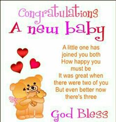 108 Best New Baby Congratulations Images On Pinterest New Baby