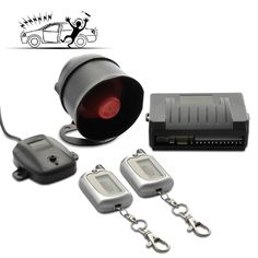 This sophisticated and effective 2-way Car 2-Way Car Alarm Security System - a must have