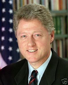 Bill Clinton: Bill Clinton 42Nd President 8 X 10 Photo Portrait Picture BUY IT NOW ONLY: $5.99
