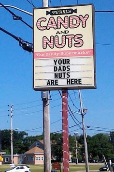 that explains the family dynamics! ... dad's nuts are here