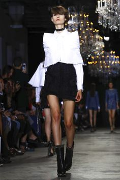 Andrew GN Fashion Show Ready to Wear Collection Spring Summer 2017 in Paris