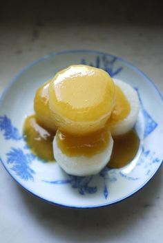 Simmered Daikon Radish with Miso sauce