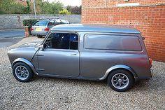 Classic Mini Van 1980, Austin/Morris Mini Cooper Classic, Classic Mini, Vans Classic, Mini Clubman, Mini Coopers, New Supercars, Mini Vans, Mini Monster, Day Van